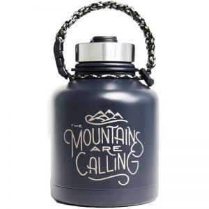 EarthHero - Mountains are Calling - 32oz Stainless Steel Insulated Growler - 1