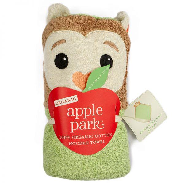 EarthHero - Magic Monkey Infant Hooded Bath Towel