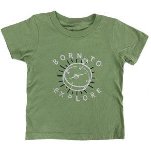 EarthHero - Born to Explore Toddler T-Shirt - 1