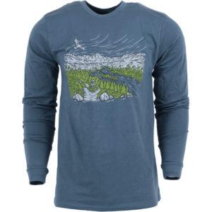 EarthHero - Unisex American Trails Longsleeve T-Shirt - 1