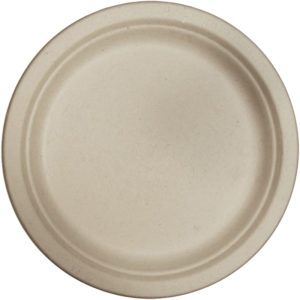 "EarthHero - World Centric Plant Fiber Compostable Plates 9"" - 1"