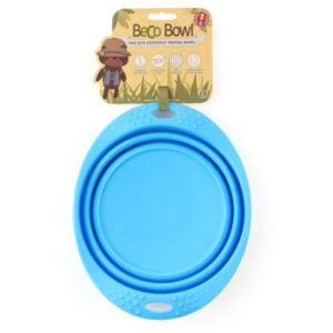 EarthHero - Silicone Collapsible Pet Travel Bowl - Blue