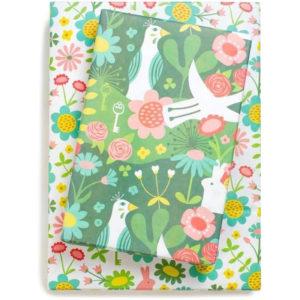 EarthHero - Enchanted Garden Recycled Gift Paper (3pk) 1