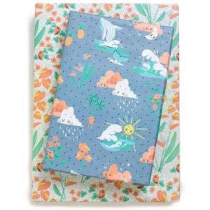 EarthHero - Hawaii Love Recycled Gift Paper (3pk) 1