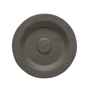 """EarthHero - Recycled Stoneware Saucers 5"""" - 1"""