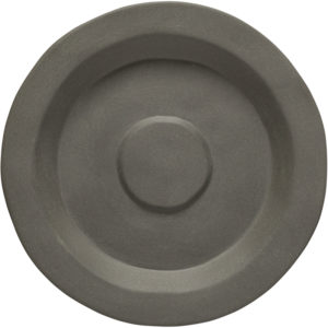 """EarthHero - Recycled Stoneware Saucers 6"""" - 1"""