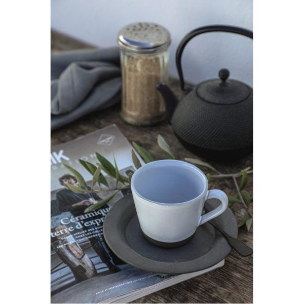 EarthHero - Recycled Stoneware Tea Cups 6oz - 2