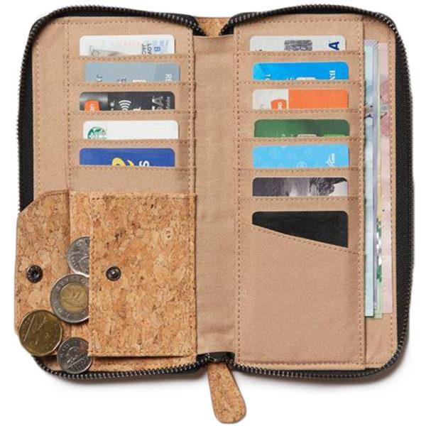 EarthHero - Banker Cork Zip Wallet - 2