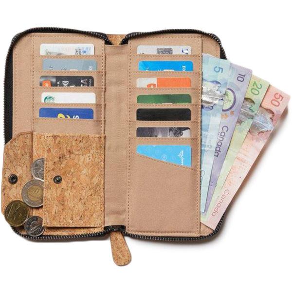 EarthHero - Banker Cork Zip Wallet - 3