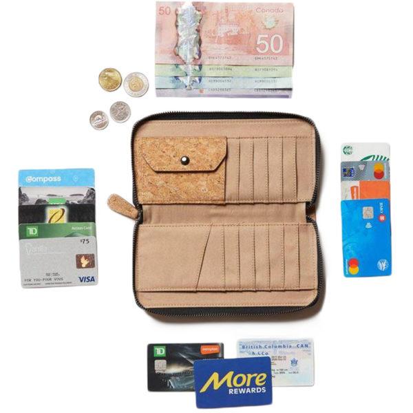 EarthHero - Banker Cork Zip Wallet - 4