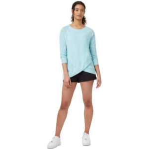 EarthHero - Blue Marled Acre Women's Longsleeve - 1