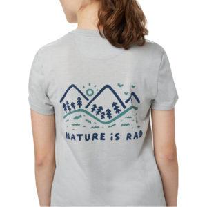 EarthHero - Nature is Rad Women's T-Shirt - 1