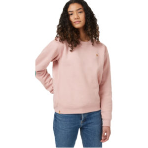 EarthHero - Pink Heather Boyfriend Women's Crew - 1