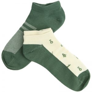 EarthHero - Planting Trees Recycled Polyester Ankle Socks 2pk - 1