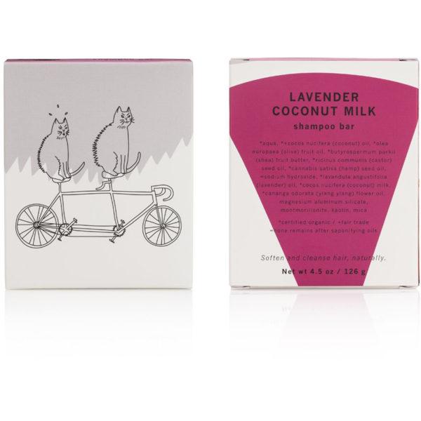 EarthHero - Lavender Coconut Milk Shampoo Bar - 2
