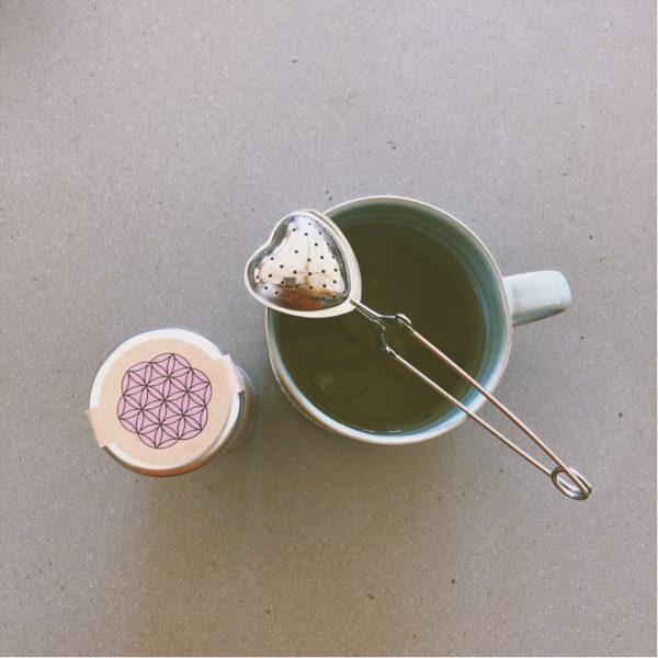 EarthHero - Stainless Steel Heart Tea Infuser - 2