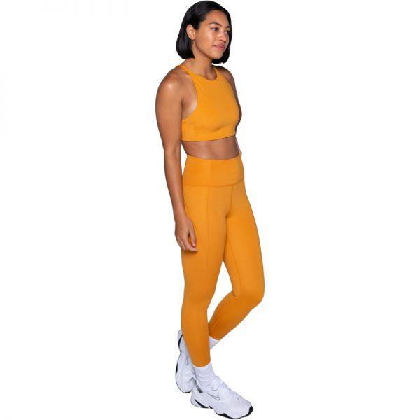 EarthHero - Honey Girlfriend Collective High-Rise Compressive Legging - 3