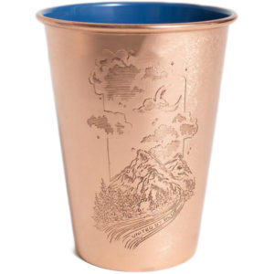 EarthHero - Constellation Canyon Copper Tumbler 16oz - 1