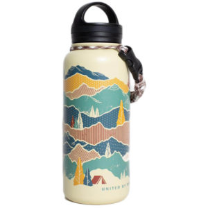 EarthHero - Mountain Shadow Insulated Water Bottle 32oz - 1