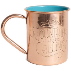EarthHero - Mountains are Calling Copper Mug 14oz - 1