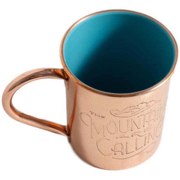 EarthHero - Mountains are Calling Copper Mug 14oz - 3