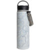 EarthHero - Topography Insulated Water Bottle 22oz - 1