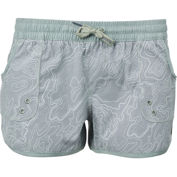 EarthHero - Organic Women's Board Shorts - Moss Green