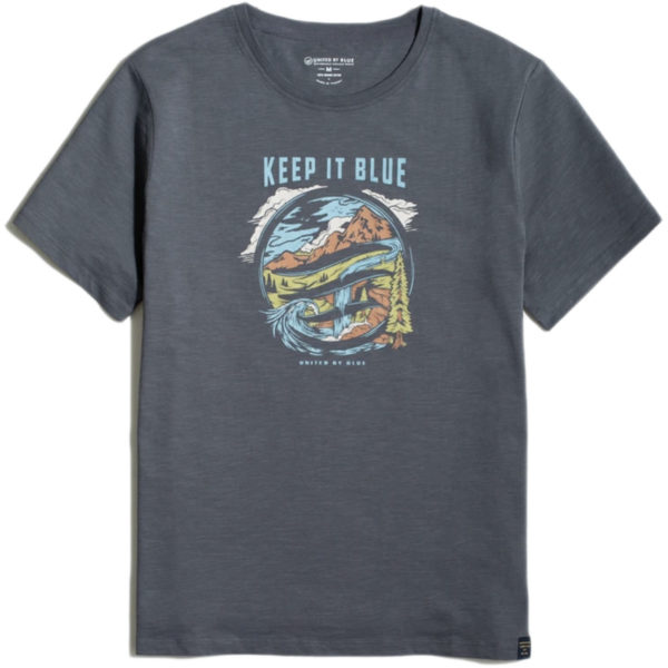 EarthHero - Keep it Blue Men's Graphic Tee - 1