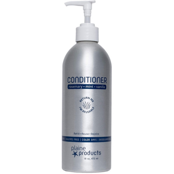 EarthHero - Plaine Products Refillable Vegan Conditioner 16oz - Rosemary