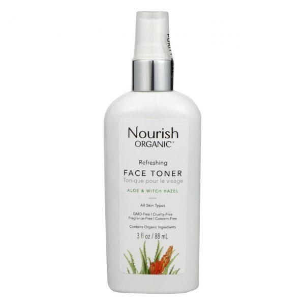 EarthHero - Refreshing and Balancing Nourish Organic Face Toner - 1