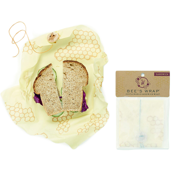 EarthHero - Reusable Beeswax Wraps Essential Starter Set 3