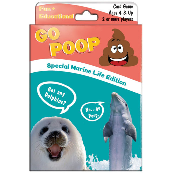 EarthHero - Go Poop Playing Card Game for Kids - Marine Life