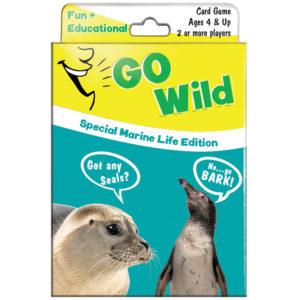 EarthHero - Go Wild Playing Card Game for Kids - Marine Life