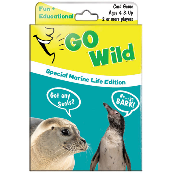 EarthHero - Go Wild Playing Card Game for Kids - Marine Life