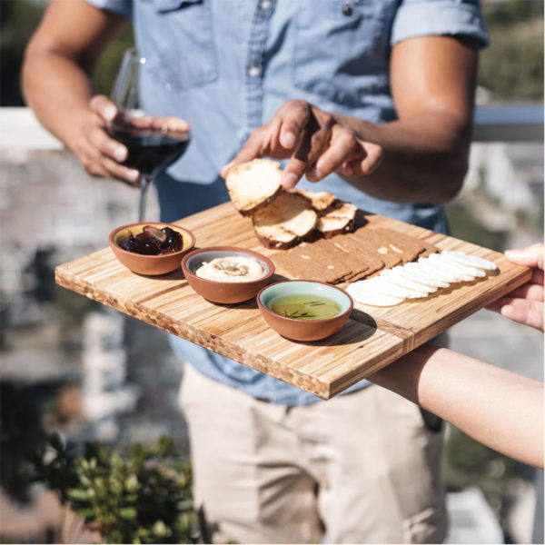 EarthHero - Recycled Bamboo Charcuterie Platter 4