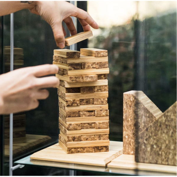EarthHero - Recycled Bamboo Building Blocks Game 5