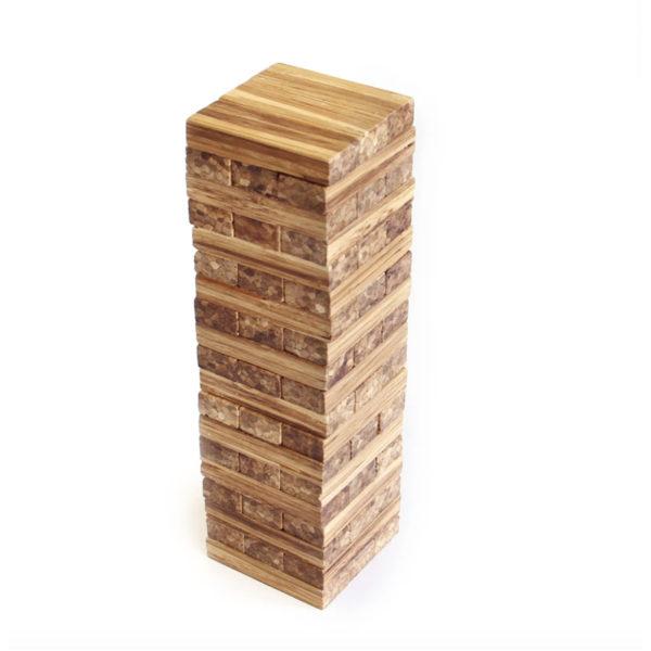 EarthHero - Recycled Bamboo Building Blocks Game 2