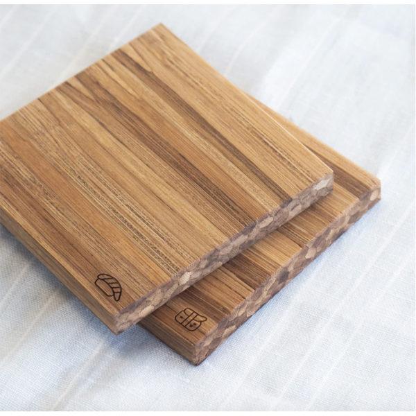 EarthHero - Recycled Bamboo Sushi Coaster Set 5