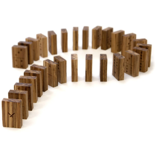 EarthHero - Recycled Bamboo Dominoes Game 2