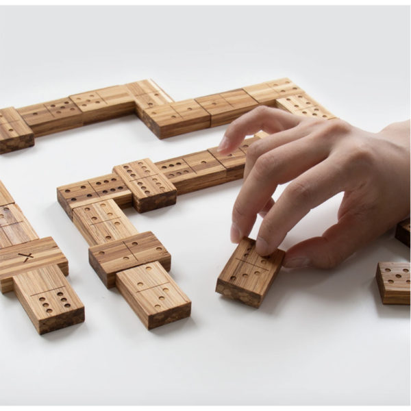 EarthHero - Recycled Bamboo Dominoes Game 3