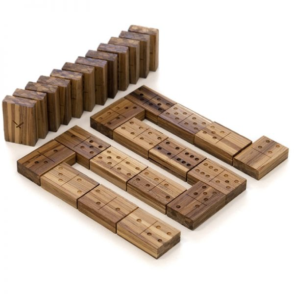 EarthHero - Recycled Bamboo Dominoes Game 1