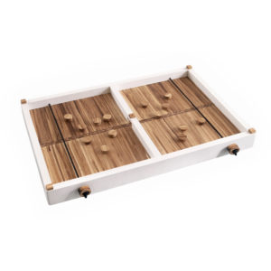 EarthHero - Recycled Bamboo Finger Hockey Game and Serving Board 1