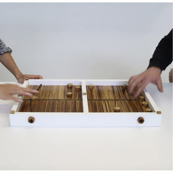 EarthHero - Recycled Bamboo Finger Hockey Game and Serving Board 5