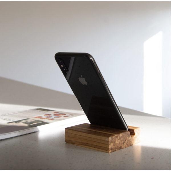 EarthHero - Recycled Bamboo Phone Stand 6