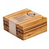EarthHero - Bamboo Coasters (4pk) 1