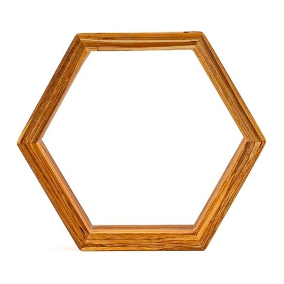 EarthHero - Hexagon Bamboo Shelf 2