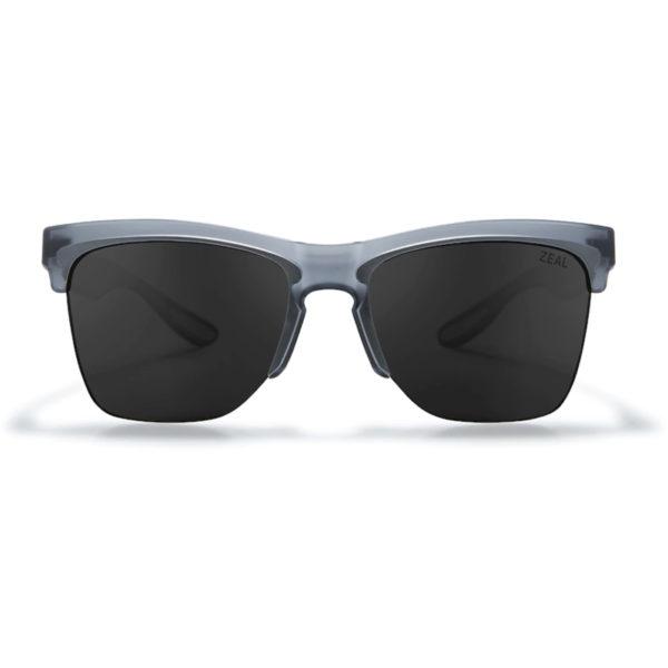 EarthHero - Zeal Optics Palisade Polarized Plant-Based Sunglasses - Matte Smoke