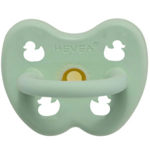EarthHero - Mint Newborn Natural Rubber Pacifier - 1