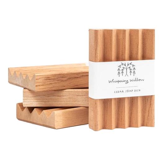 Whispering Willow - EarthHero Cedar Soap Dish