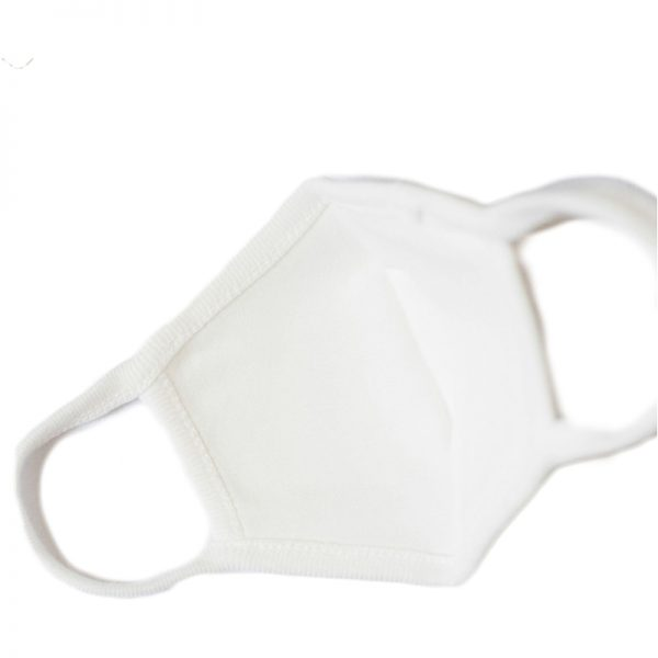 EarthHero - Organic Cotton Face Mask White - 2